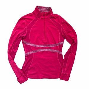 Lululemon Run Hills Pullover 1/2 Zip Pink Size 8